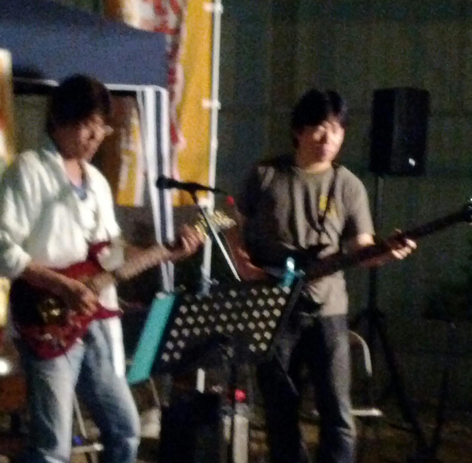 音楽活動[中口潤]20120602おかざきBARゲリラライブ
