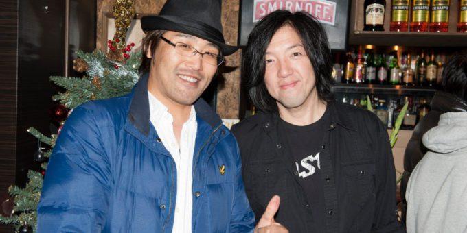 Toshi Yanagiさんと 2014年12月20日