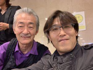 鈴木良雄さんに岡崎JAZZストリートの袋にサインして貰いました!