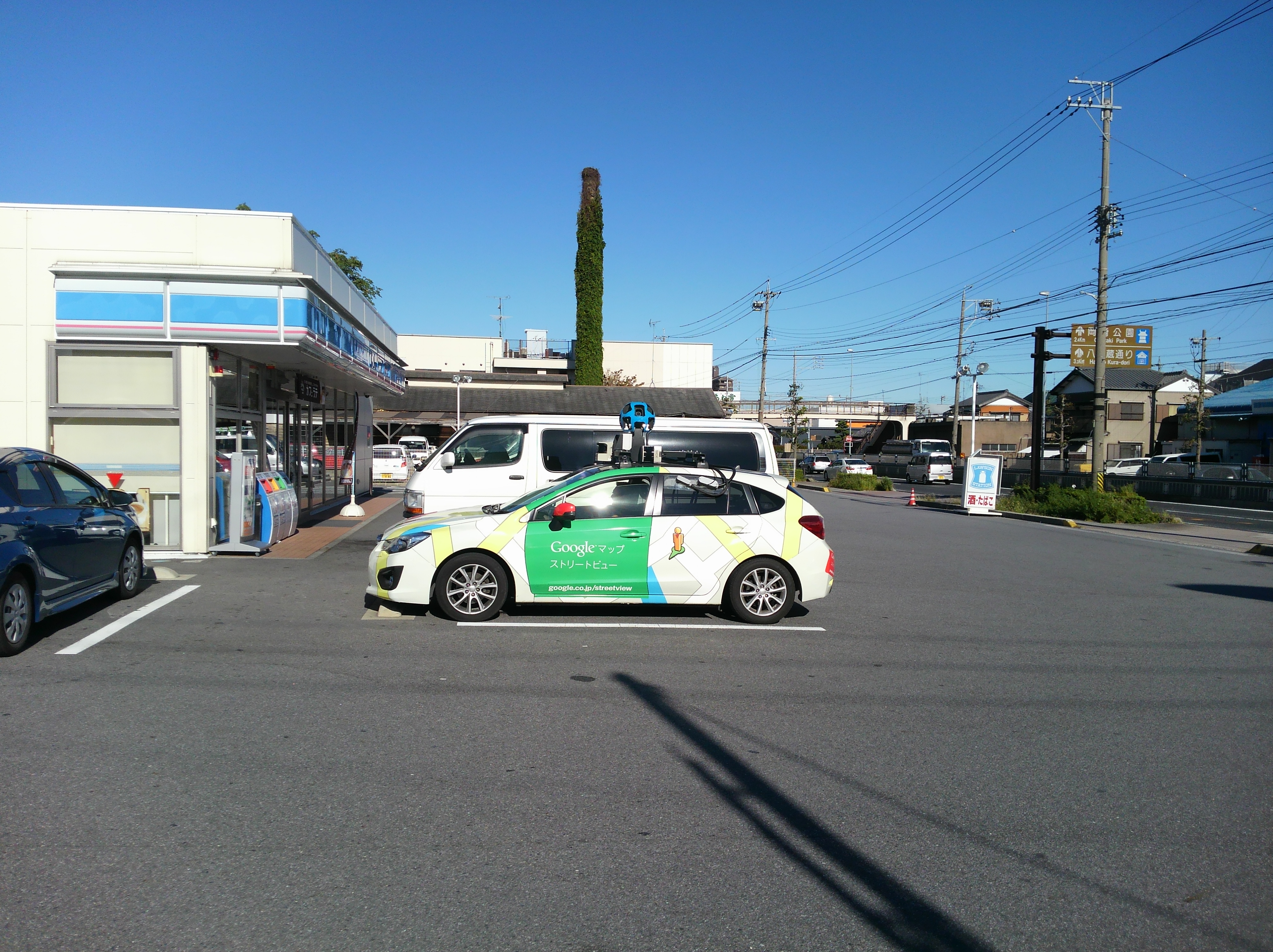 GoogleMapCarに遭遇!