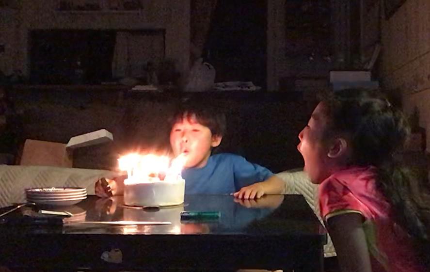息子の誕生日でした。