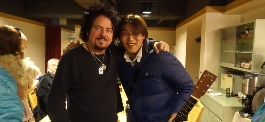 with Steve Lukather(TOTO)|2015年01月28日