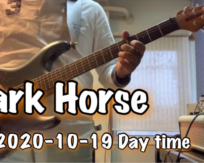限定公開 練習中 【Dark Horse】Jun Nakaguchi / THR30ⅡWireless 購入記念!シリーズ / 2020-10-19 Day time training