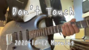 【Don't Touch】Non Touch Nation / Cover / 2020-10-12 Morning Training