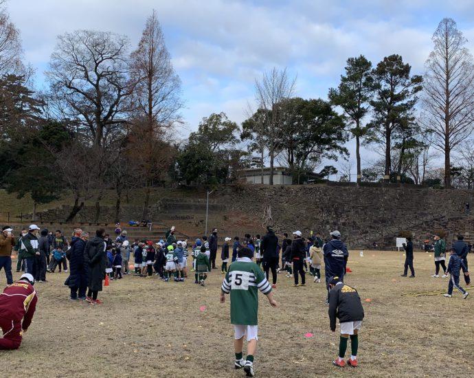初蹴り 2021-01-03 #岡崎ラグビースクール