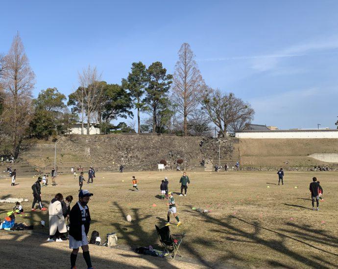 自主練! 岡崎ラグビースクール(小学三年生)|2021-02-28