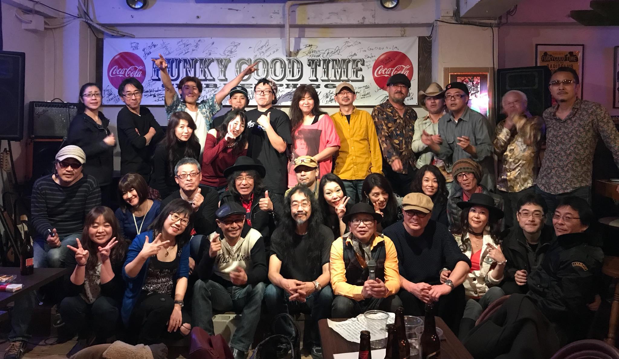SelfStream 《50oldロック倶楽部》3.4交流セッション『姫祭り』│2018-03-04